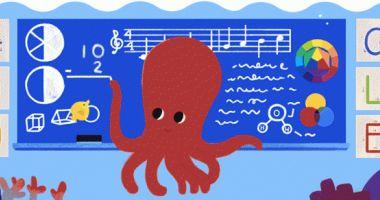 """Ziua profesorului 2019. Google urează """"La mulți ani!"""" profesorilor cu un doodle"""