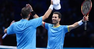 Tenis / Tecău și Rojer s-au calificat în sferturile probei de dublu la Paris-Bercy
