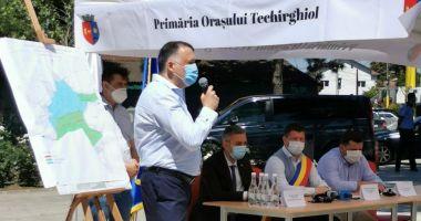 Orașul Techirghiol se racordează la rețeaua de gaze.