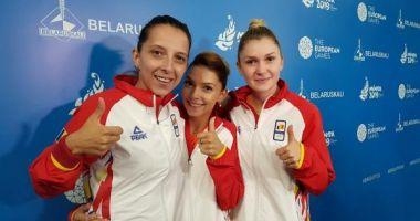 Jocurile Europene de la Minsk: Echipa feminină de tenis de masă a României, învinsă în finală de Germania