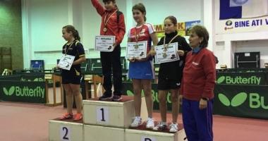 Sportiva Bianca Meiroşu, câştigătoarea a Cupei României la copii