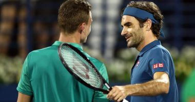 Roger Federer s-a calificat în semifinale, la Dubai