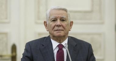 Teodor Meleșcanu, prezent la reuniunea CAE de la Bruxelles