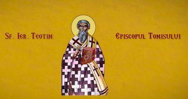 Biserica îl cinstește mâine pe sfântul Teotim, Episcopul Tomisului