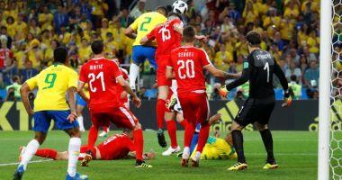 CM 2018. BRAZILIA, calificată în optimi după 2-0 cu Serbia