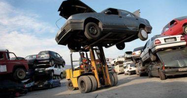 Maşinile abandonate prin Constanţa, ridicate de poliţiştii locali