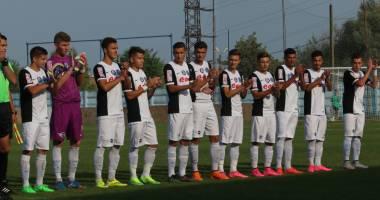 Fotbal U19: FC Viitorul a debutat cu o remiză în Youth League