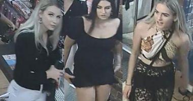 """Foto : Poliţia caută trei tinere """"fermecătoare"""" care au furat vibratoare în valoare de 400 de euro"""