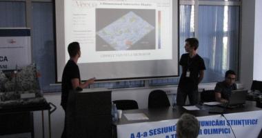 Olimpicii şi-au dat întâlnire la sesiunea de comunicări ştiinţifice