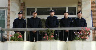 Tineri absolvenţi  la Inspectoratul  de Jandarmi Judeţean Constanţa