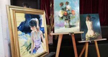 Tinerii artiști organizează  o nouă expoziție online