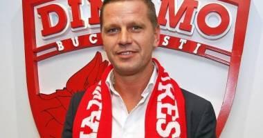 Dinamo a rămas fără antrenor