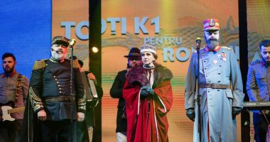 Toţi K1 pentru România. Concert extraordinar de evocare istorică, dedicat Centenarului Marii Uniri