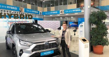 Toyota Rav4 hybrid, maşina pe care o vor lua medaliaţii români cu aur la JO Tokyo 2020
