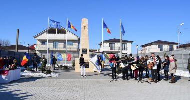 Locuitorii din Cumpăna au sărbătorit Marea Unire