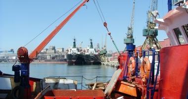 Traficul de mărfuri din porturile maritime româneşti se apropie de nivelul anului 2016