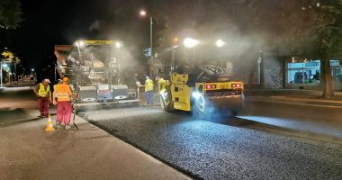 Restricții parțiale de trafic, la noapte, pe un tronson al bulevardului Tomis