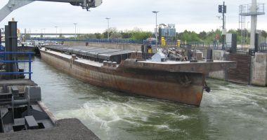 Traficul de mărfuri pe canalele Dunăre - Marea Neagră și Poarta Albă – Năvodari a crescut cu 38%