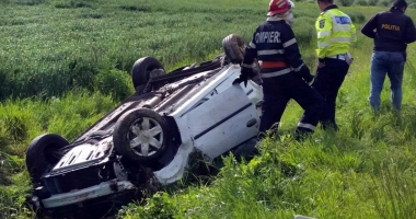 Tragedie lângă Constanţa. Bărbat decedat, ambii săi copii sunt în stare gravă
