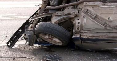Tragedie rutier�! Un b�rbat a murit, iar altul se zbate �ntre via�� �i moarte