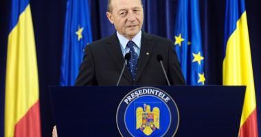 Traian Băsescu, despre Roşia Montană: Nu se poate atribui prin lege un contract, fapt confirmat de jurisprudenţa CCR