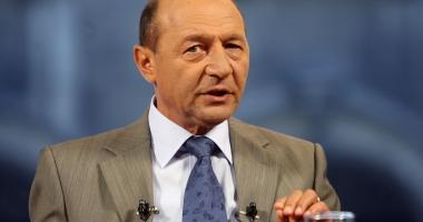 Ce spune Traian Băsescu despre pensia pe care  o primeşte de la stat