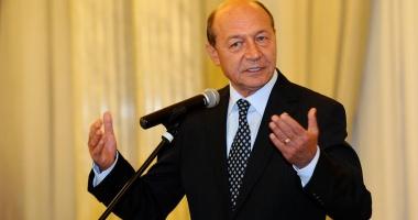 Traian Băsescu  şi-a dat demisia  din funcţia de preşedinte al PMP