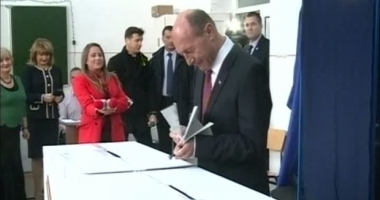 Traian Băsescu: Am votat cu gândul la o majoritate care să nu încerce să pună sub control politic justiţia