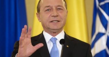 MESAJ DE ANUL NOU 2014 de la Traian Băsescu. Ce a transmis preşedintele de REVELION