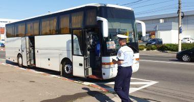 Controale drastice pe transportul în comun. Poliția a dat sute de sancțiuni!