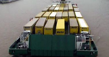 Transportul fluvial de containere va deveni o afacere profitabilă