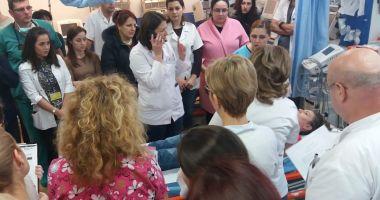 Foto : Tratament salvator la Spitalul de Urgenţă Constanţa!