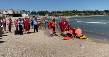 Tragedie pe litoral. Bărbat din Cluj, mort pe plajă în Mangalia