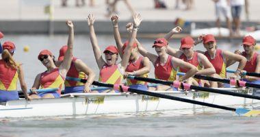 Trei echipaje româneşti, în finalele Cupei Mondiale de canotaj