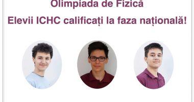 Trei elevi de la Liceul de Informatică Constanţa, calificaţi la faza naţională a Olimpiadei de fizică