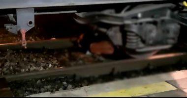 Tragedie! O persoană a fost tăiată de tren în gara CFR din Murfatlar