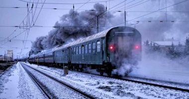 Circulaţia mai multor trenuri de călători, afectată de temperaturile scăzute