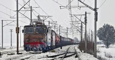 Mersul trenurilor. Întârzieri majore din cauza viscolului, a vântului puternic și a frigului