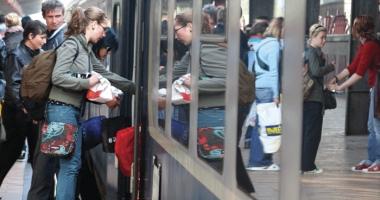 Facilităţi pe tren pentru elevi