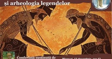 Cătălin Pavel îi aduce pe Homer şi Troia la Constanţa