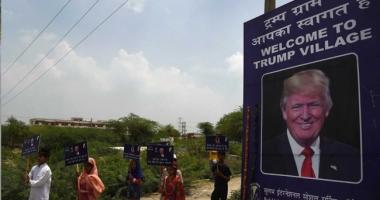Un sat indian și-a schimbat numele în 'Trump'