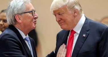 Trump şi Juncker dezamorsează conflictul comercial dintre SUA şi UE