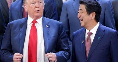 Trump evocă mari progrese în negocierile comerciale americano-nipone
