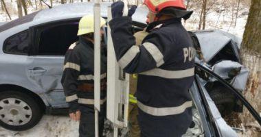 Vremea rea face noi victime! 5 victime în urma unui accident rutier