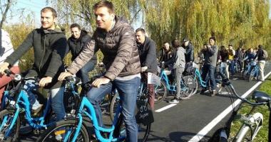 Biciclişti, haideţi la un tur al lacului Techirghiol!