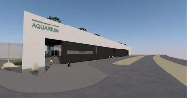 CJC, planuri pentru construcția unui nou acvariu.