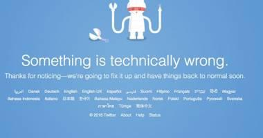 Twitter a c�zut �n �ntreaga lume