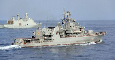 Ucraina va trimite din nou nave militare  în Marea Azov
