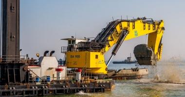 Ucraina îşi adânceşte porturile maritime