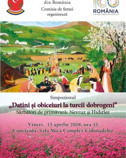 Datinile și obiceiurile la turcii dobrogeni, evocate de membrele UDTR